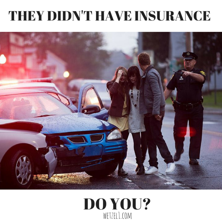 Penalties of Driving Without Insurance | Wetzel Insurance in
